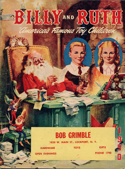 Christmas Catalogs.Lone Ranger In Christmas Catalogs From The Past